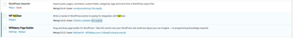 fail2ban install plugin wordpress